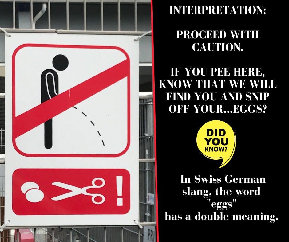 a sign on a pole