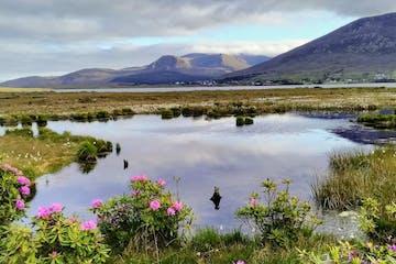 Ballycroy lake in Ireland