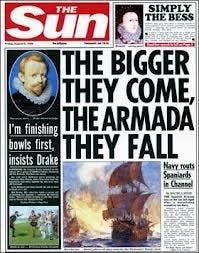 the sun newspaper cover