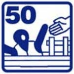 Icon 50 blue