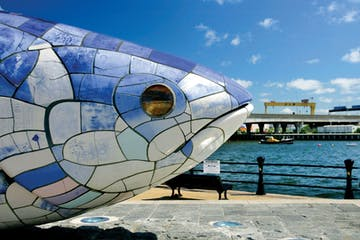big fish statue