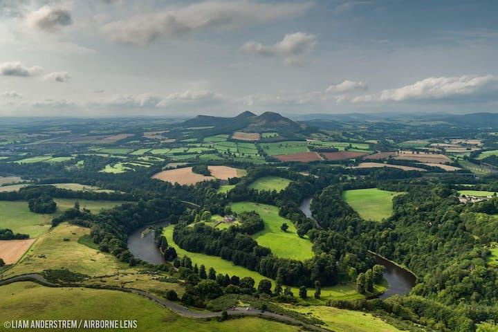 The Scottish Borders tour