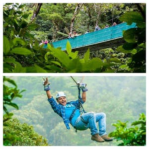 Difference Between Zip Lines and Canopy Tours