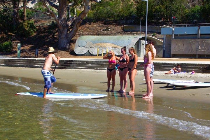 SUP Board Lessons