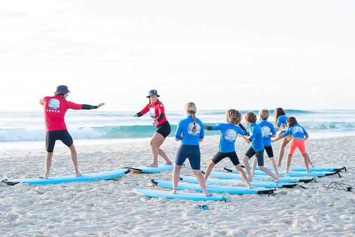 surf groms training