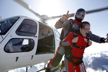 Swiss Alps Tandem Skydiving