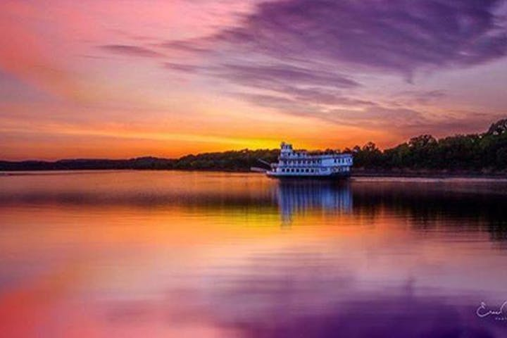 Sunset - The Southern Belle Riverboat