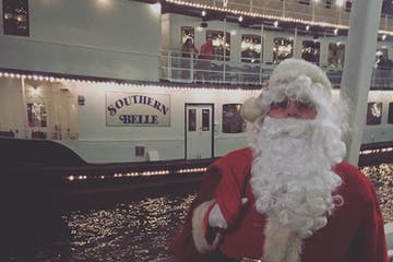 Santa on the Southern Belle Riverboat