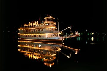 Southern Belle at night
