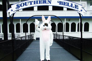 Easter Bunny on The Southern Belle Riverboat
