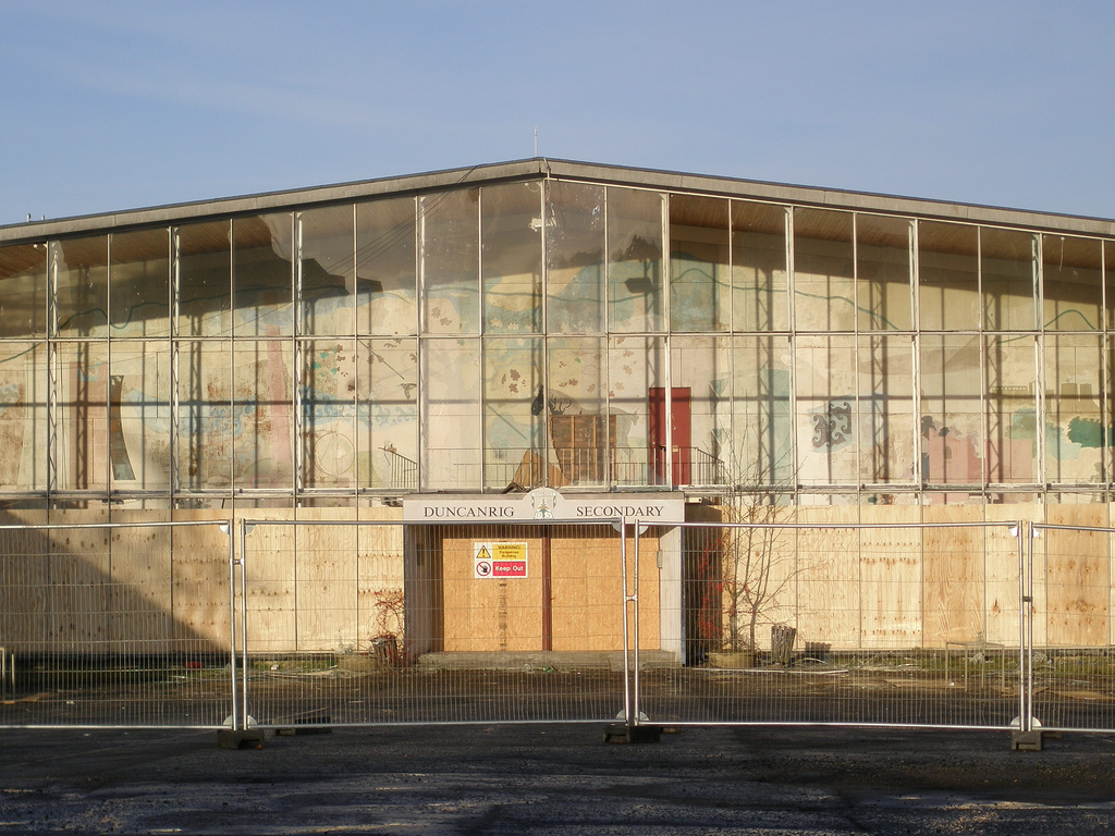 Duncanrig High School (Photograph Anne Ward)