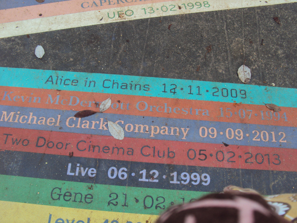 close up of the album pathway