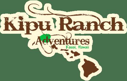 Kipu Ranch Logo with tan glow