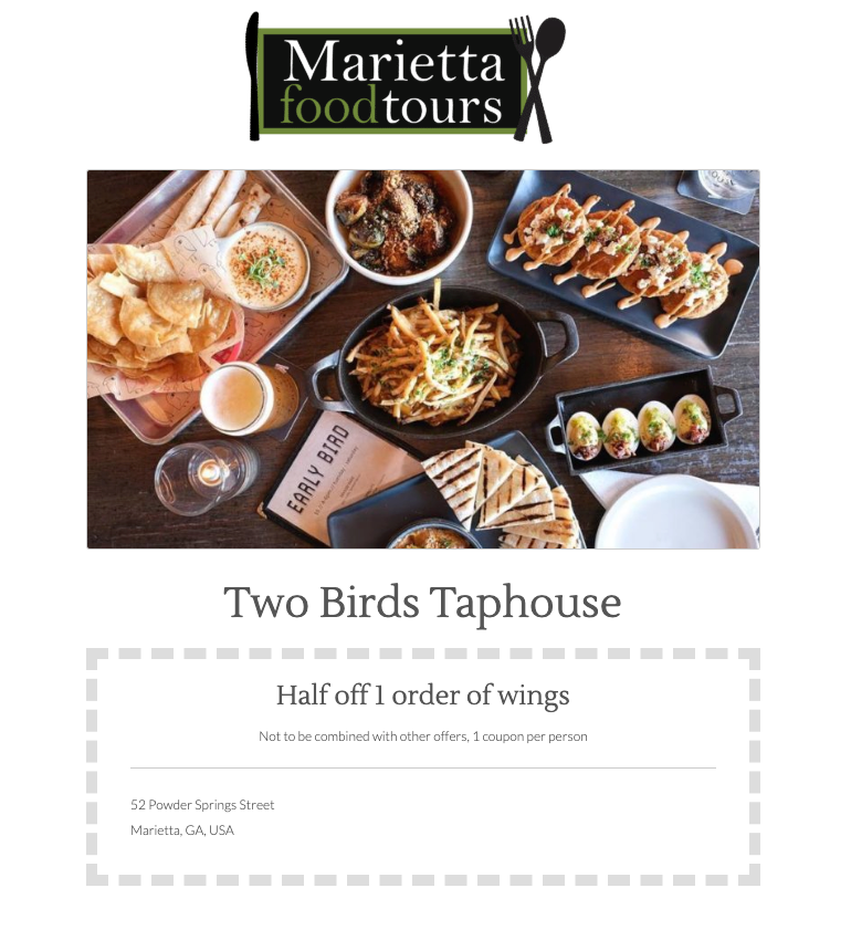 Click here to Two Birds Taphouse