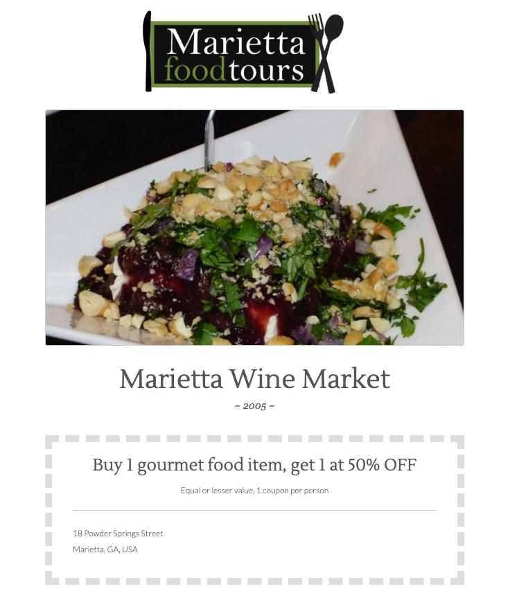 Click here to Marietta Wine Market