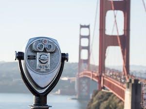 Viewer by the Golden Gate Bridge