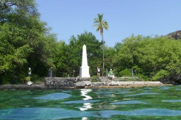 My Kona Adventures - Capt. Cook Monument