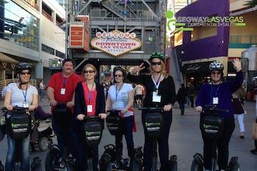 Tour Group with Segway Las Vegas watermark