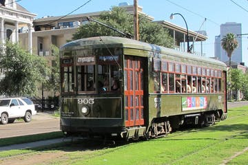 Trolley in New Orleans