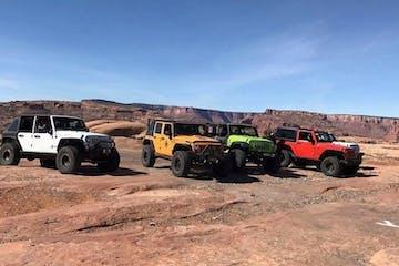 four jeeps