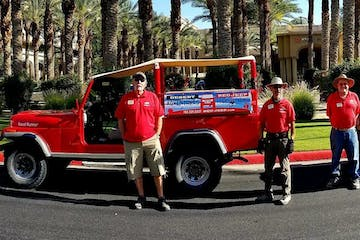 Red Jeep Tours | Fleet
