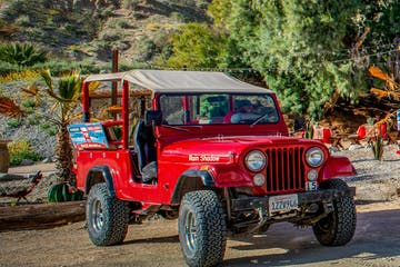 Red Jeep Tours | Metate Ranch | San Andreas Fault