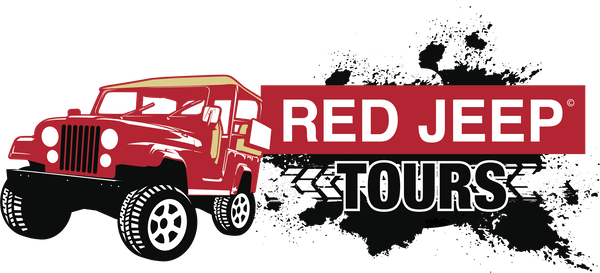 Red Jeep Tours Logo