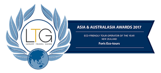 Luxury Travel Guide's Eco-friendly Tour operator of the year