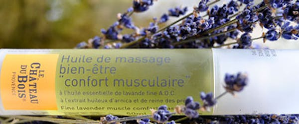 massage lavender oil