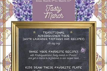 tasty march lavender museum