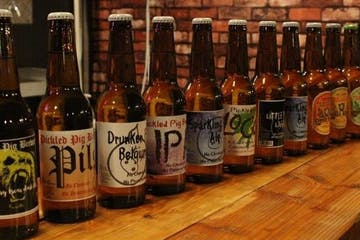 Craft Beer bottles