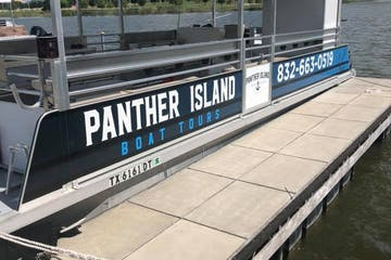 Panther Island boat