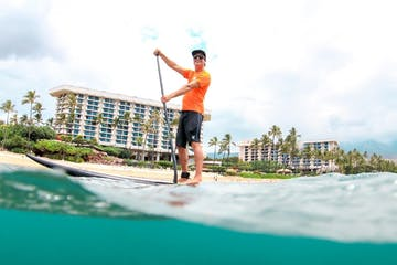 Private and Semi-Private SUP Lessons maui