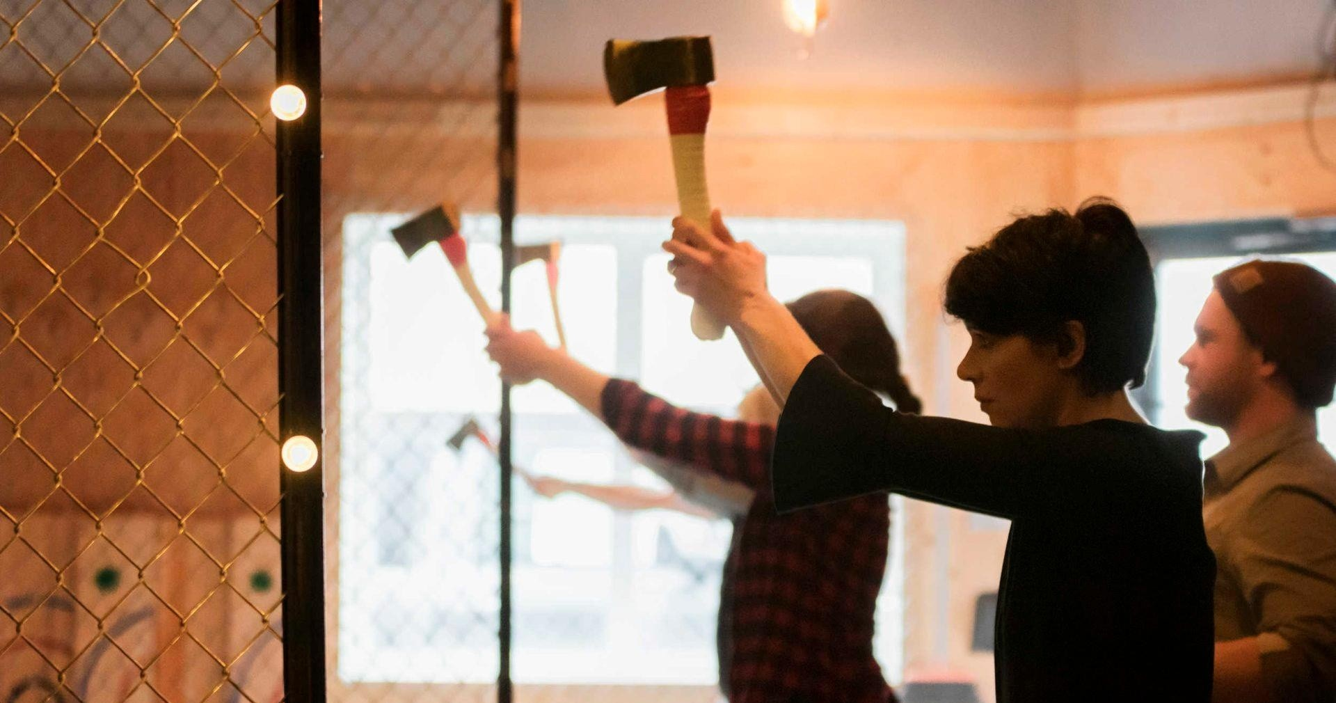 Try axe throwing in Whistler, BC