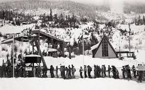 historic Whistler Chair lifts