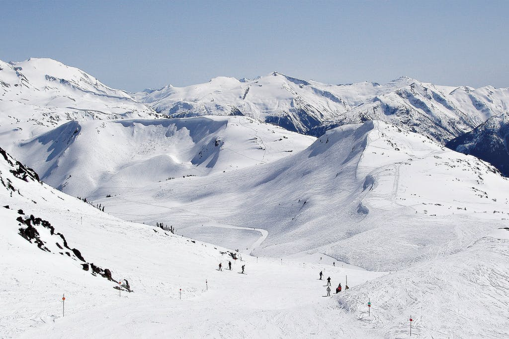 Top of Whistler view