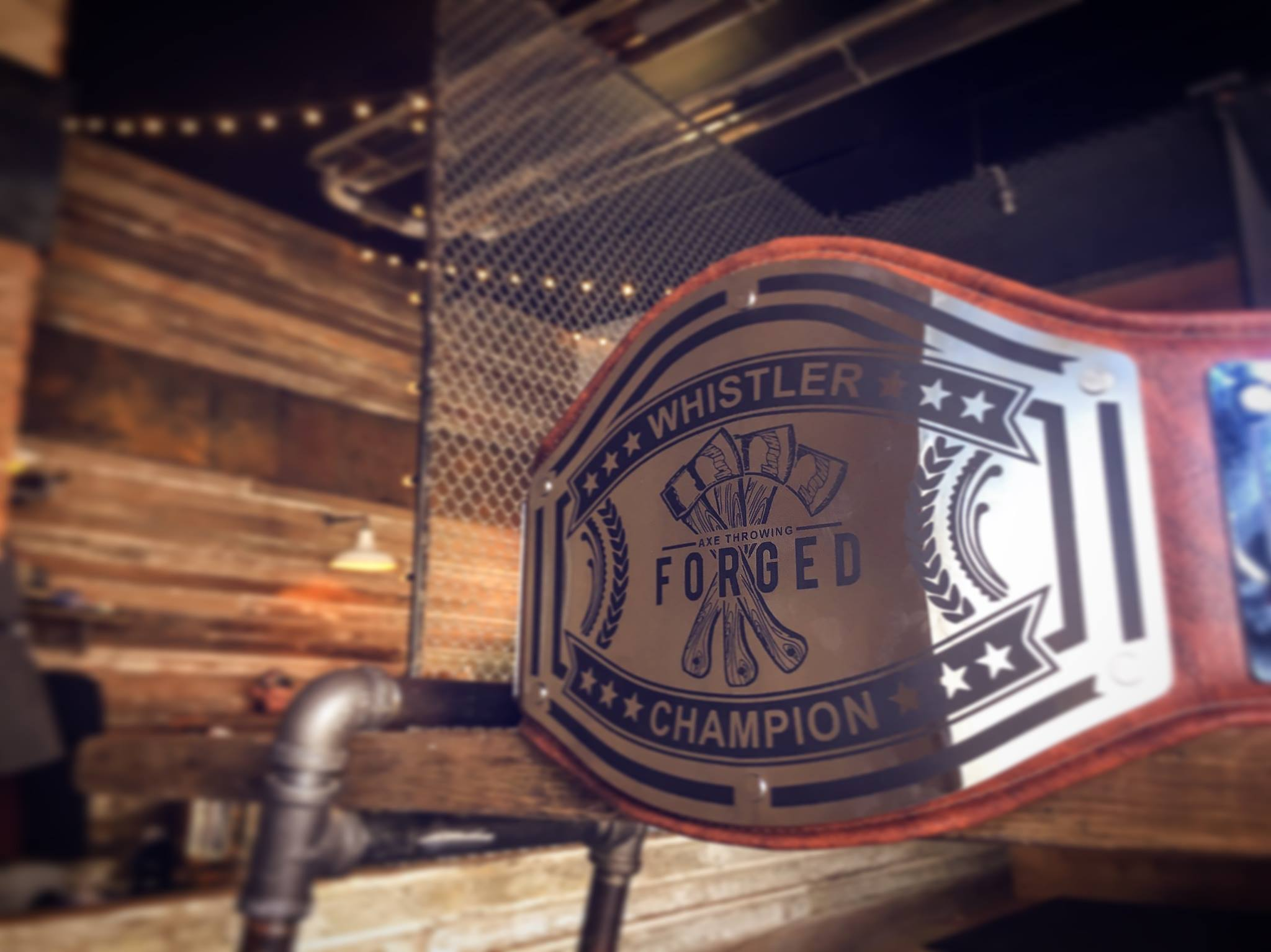 Forged Axe Throwing Belt