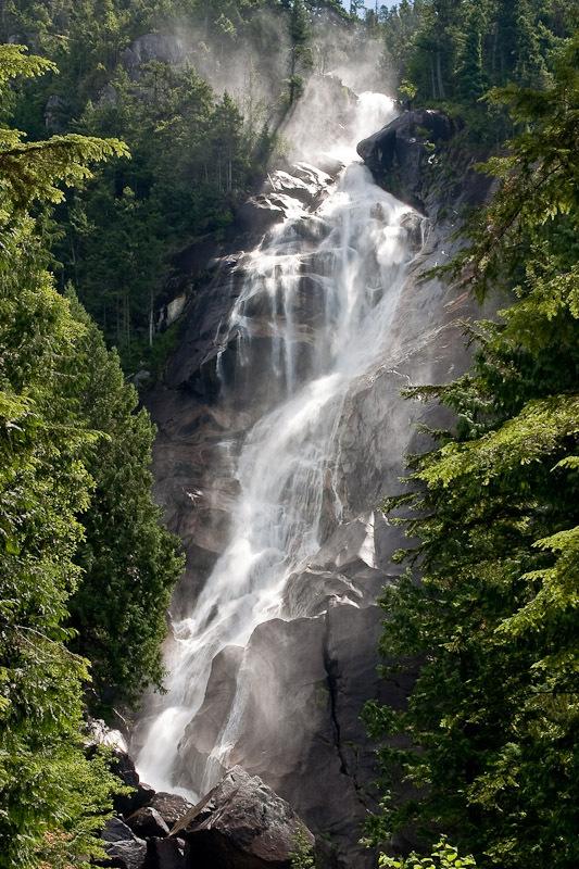 Shannon falls, Squamish BC