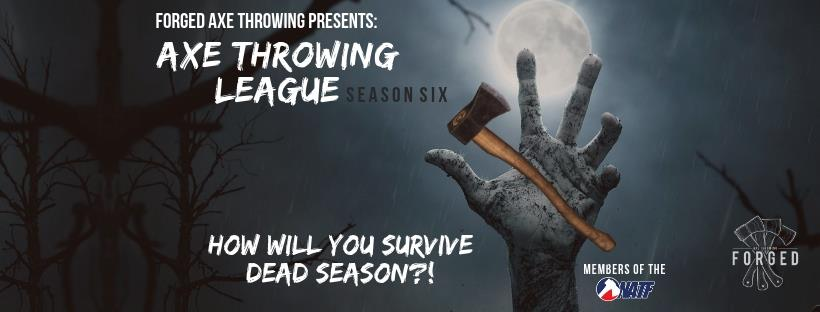 Forged Axe Throwing League advertisement