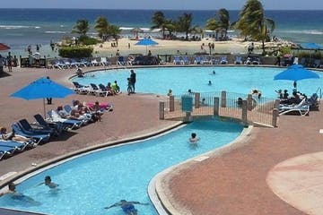 pool and Jamaica resort