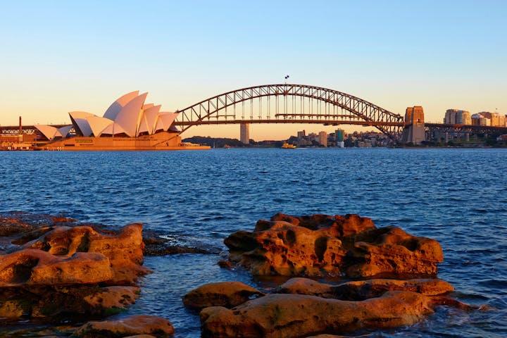 Opera house and the bridge