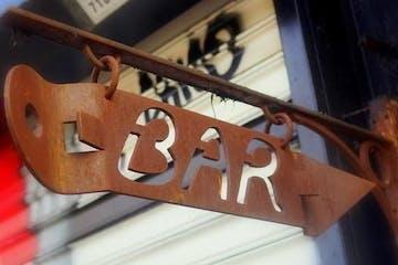 bar sign in new york