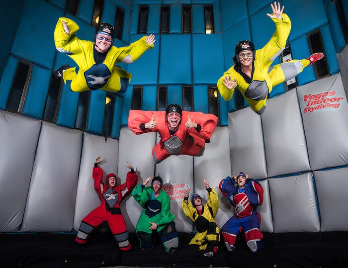 Coupons & Discounts $10 OFF | Vegas Indoor Skydiving