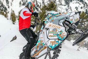 Pro Rider Experience with Snowmobile