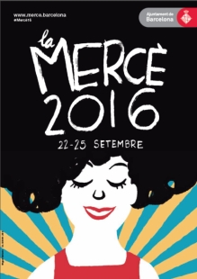 La Mercè 2016 poster