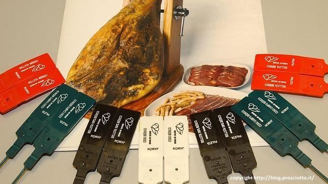 Facts & Quality Secrets for buying Jamon Iberico - Color coded quality labels