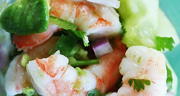 7 Delicious Seafood Tapas recipes - Shrimp Ceviche