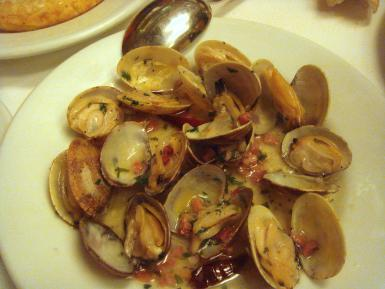 7 Delicious Seafood Tapas recipes - Mussels in White Sauce