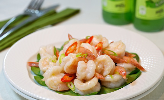 7 Delicious Seafood Tapas recipes - Tender and Glossy Garlic Shrimp
