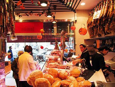 Barcelona´s Best Places to buy Jamón Ibérico - Jamón-Jamón